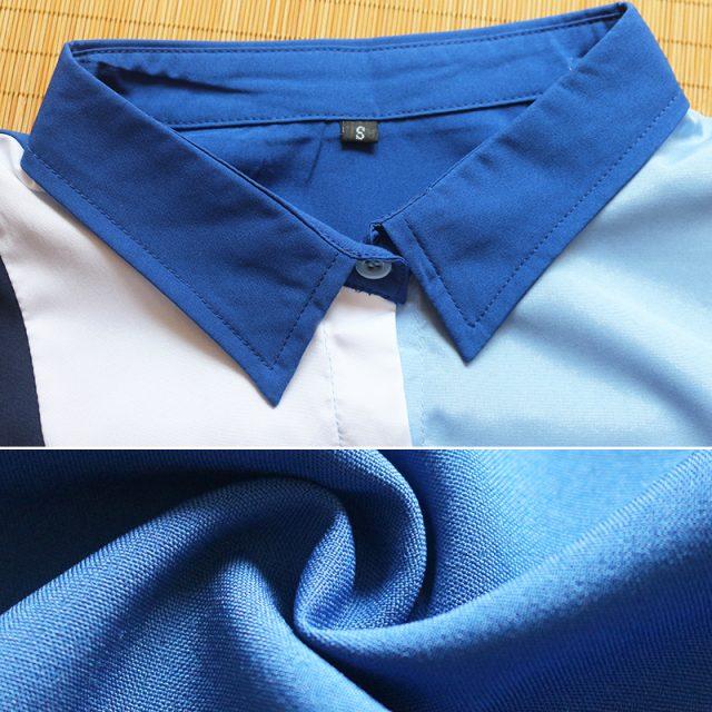Women's  Long Sleeve Chiffon Blouse