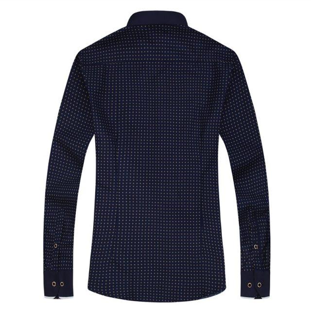 Fashion Casual Patterned Men's Shirt