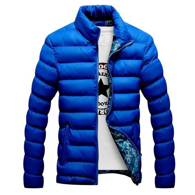 Men's Quilted Warm Jacket