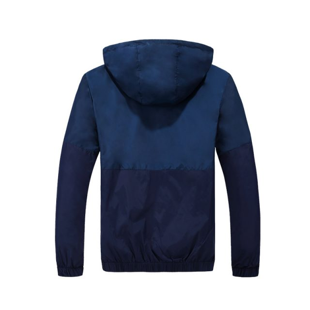 Fashion Men's Hooded Windbreakers