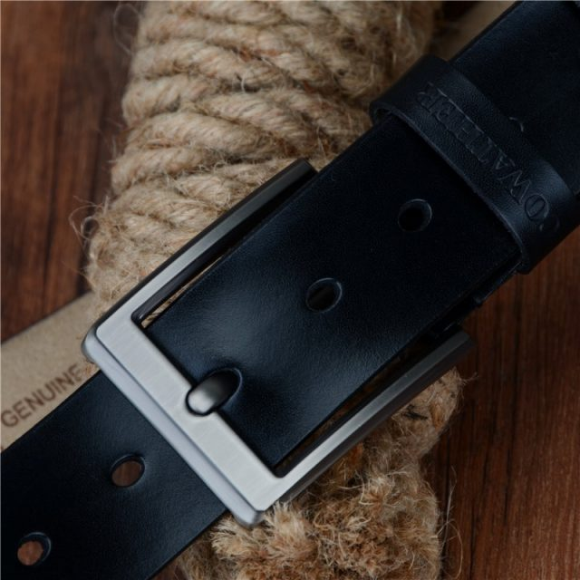 Men's Casual Style Belt with Pin Buckle
