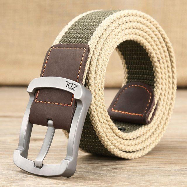 Men's Military Alloy Belt