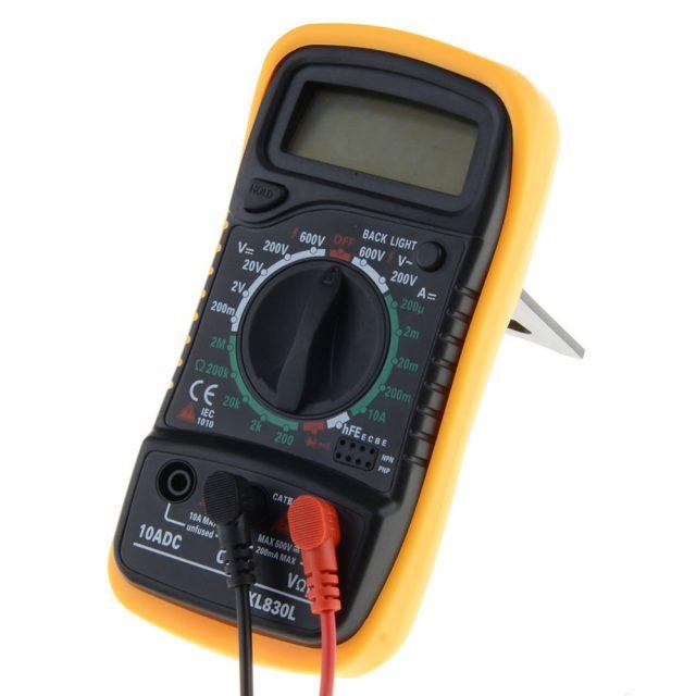 Temperature Measurement Handheld LCD Digital Multimeter